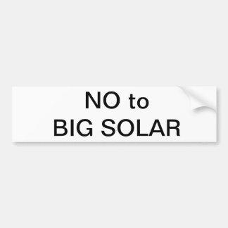 Energía solar pegatina para auto