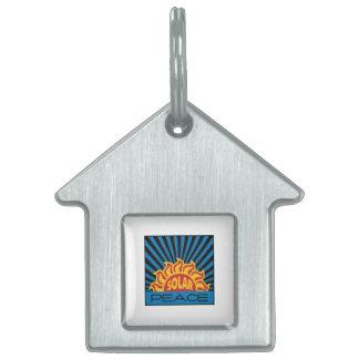 Energía solar placas de mascota