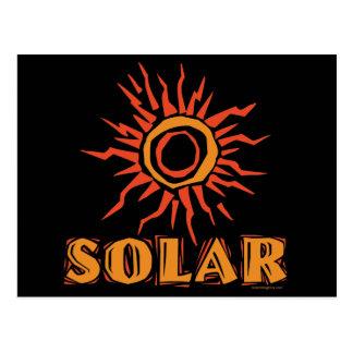 Energía solar Sun Postales