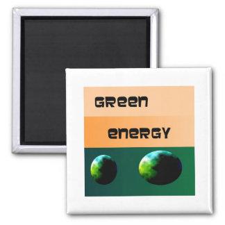 Energía verde Design>Advertizing Imán Cuadrado
