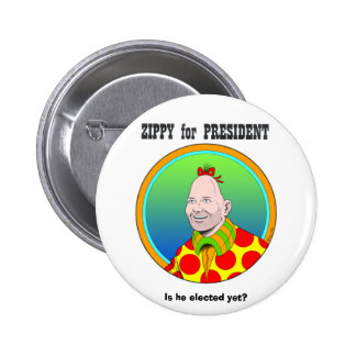 ¡Enérgico para el presidente! Pin Redondo De 2 Pulgadas