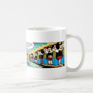 ¡Enérgico y Nancy para siempre! Taza De Café