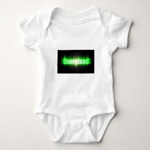 energise clothing zazzle Animated Green Stop Light energised baby bodysuit