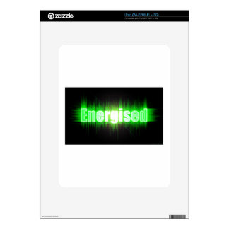 Energised Decals For iPad