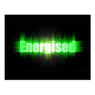 Energised Postcard
