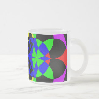 Energize by Kenneth Yoncich Frosted Glass Coffee Mug