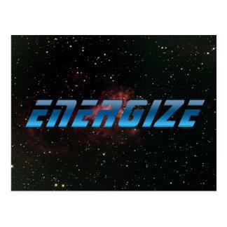 Energize Postcard