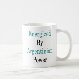 Energized By Argentinian Power Coffee Mug