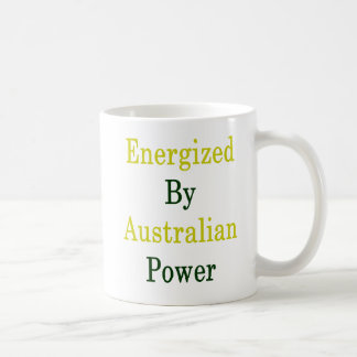 Energized By Australian Power Coffee Mug