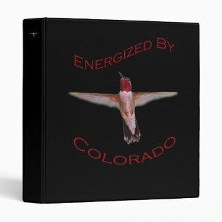 Energized By Colorado Vinyl Binder