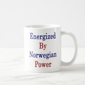 Energized By Norwegian Power Coffee Mug