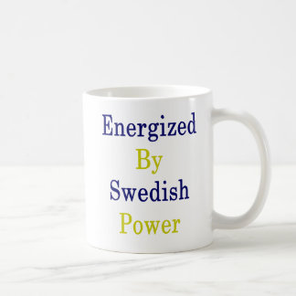Energized By Swedish Power Coffee Mug