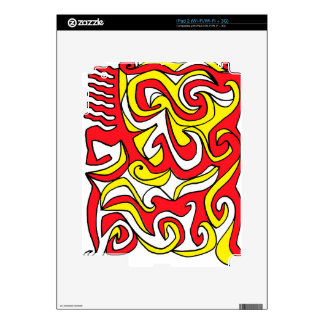 Energized Careful Meaningful Celebrated iPad 2 Skin