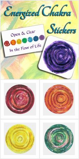 Energized Chakra Stickers
