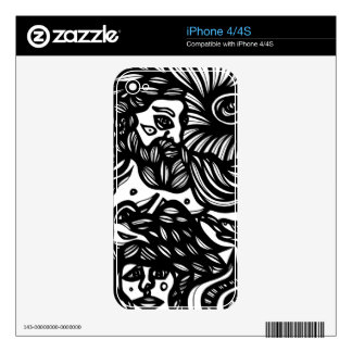 Energized Fine Elegant Agreeable Skins For iPhone 4