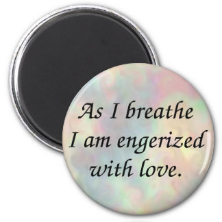 Energized with love button magnets
