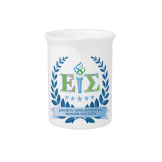 Energy and Sciences Honor Society Merchandise Drink Pitchers