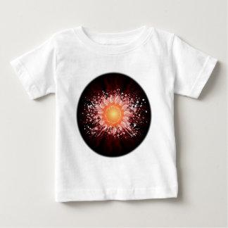 Energy Ball Line Art - Original Colors Baby T-Shirt