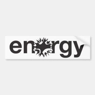 Energy Bumper Sticker