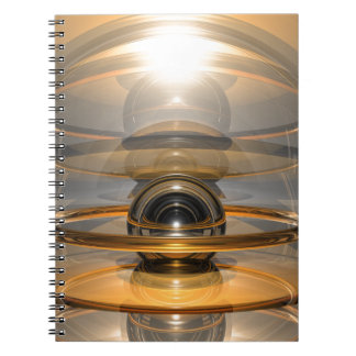Energy Cell Spiral Notebooks