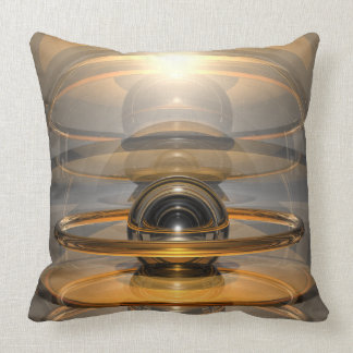 Energy Cell Throw Pillow
