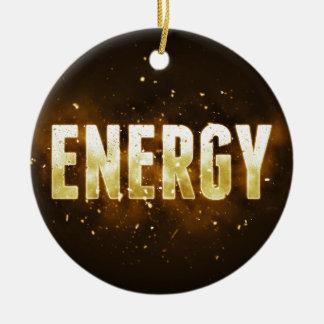 Energy Ceramic Ornament