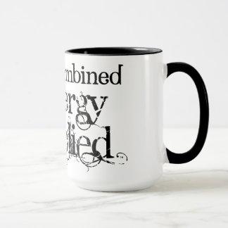 """""""Energy combined=energy multiplied"""" Mug"""