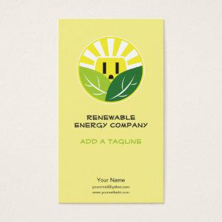 Energy Company Business Card