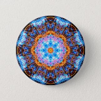 Energy Core Mandala Pinback Button