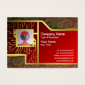Energy Core Radioactive Business Card