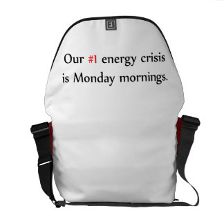 Energy Crisis Courier Bag