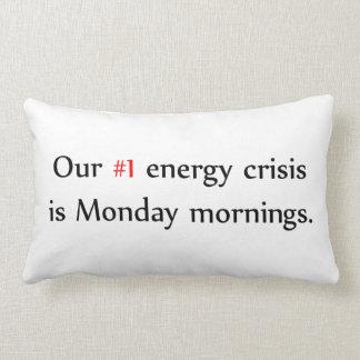 Energy Crisis Pillows