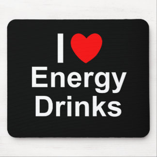 Energy Drinks Mouse Pad