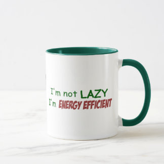 Energy Efficient Mug - light
