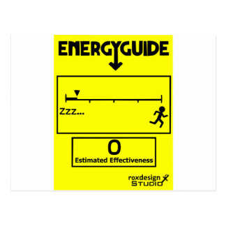 Energy Efficient Postcard