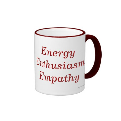 Energy Enthusiasm Empathy Mug
