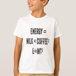 Energy equals MC squared T-Shirt