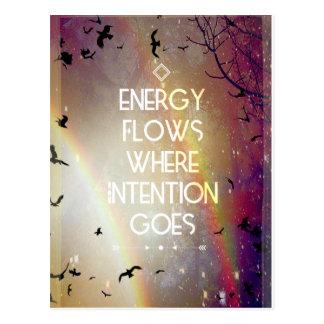 Energy Flow - Postcards