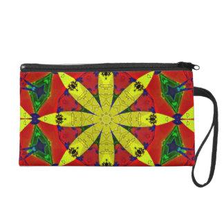 Energy Flower Bagette Bag Wristlet