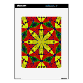 Energy Flower Decal for IPad