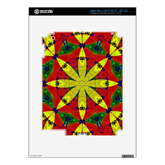 Energy Flower Decal for IPad 3