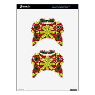 Energy Flower Xbox 360 Controller Skin