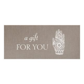 Energy Healer Henna Lotus  Gift Certificate 2