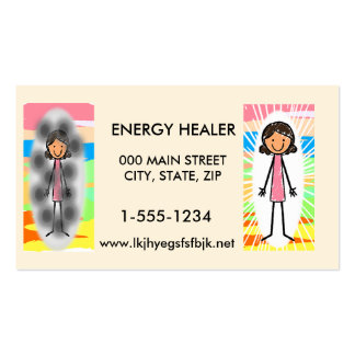 Energy Healers Business Cards