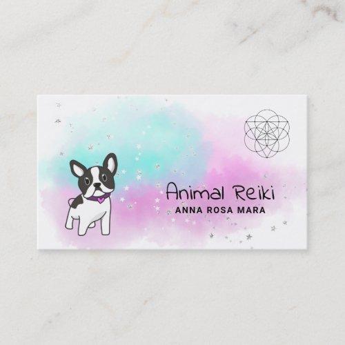 Energy Healing Animal Communicator Reiki Business Card