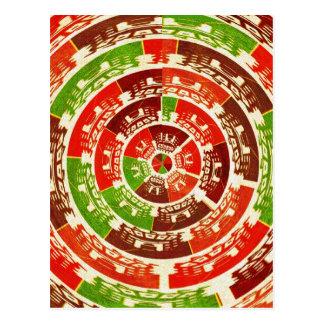 Energy Healing Chakra - Futuristic Designs Postcard