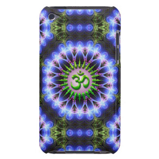 Energy Healing Green OM  iPod Touch Barely There iPod Cover