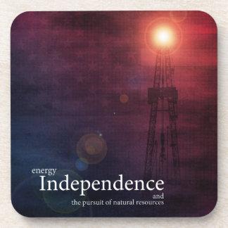 Energy Independence Beverage Coaster