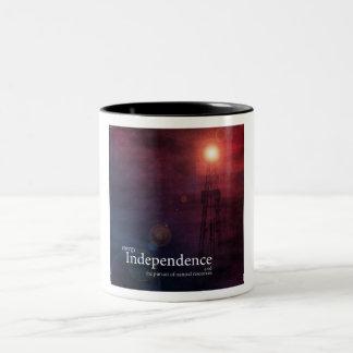 Energy Independence Two-Tone Coffee Mug