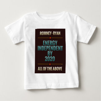 Energy Independent By 2020 Baby T-Shirt
